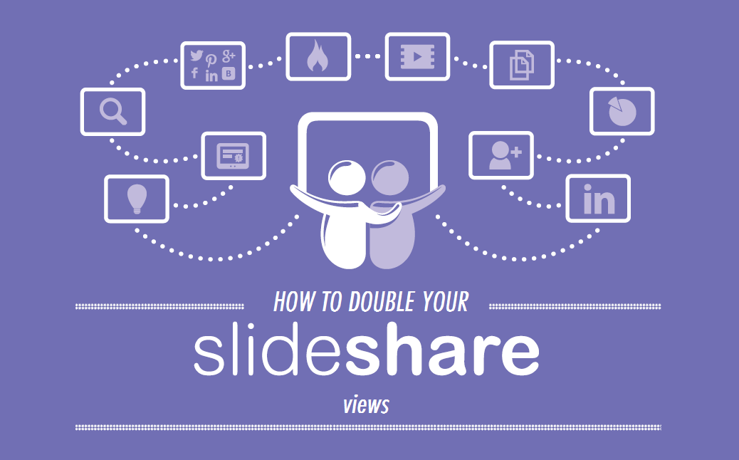 how To Double Your Slideshare Views in Just 5 Minutes A Day - #infographic #contentmarketing