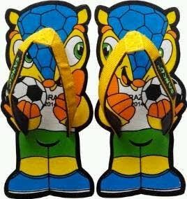 Sandal Lucu Soccer Boy