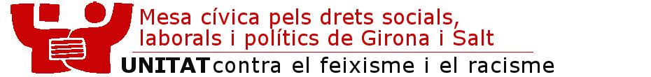 Mesa Cívica pels drets socials, laborals i polítics de Girona
