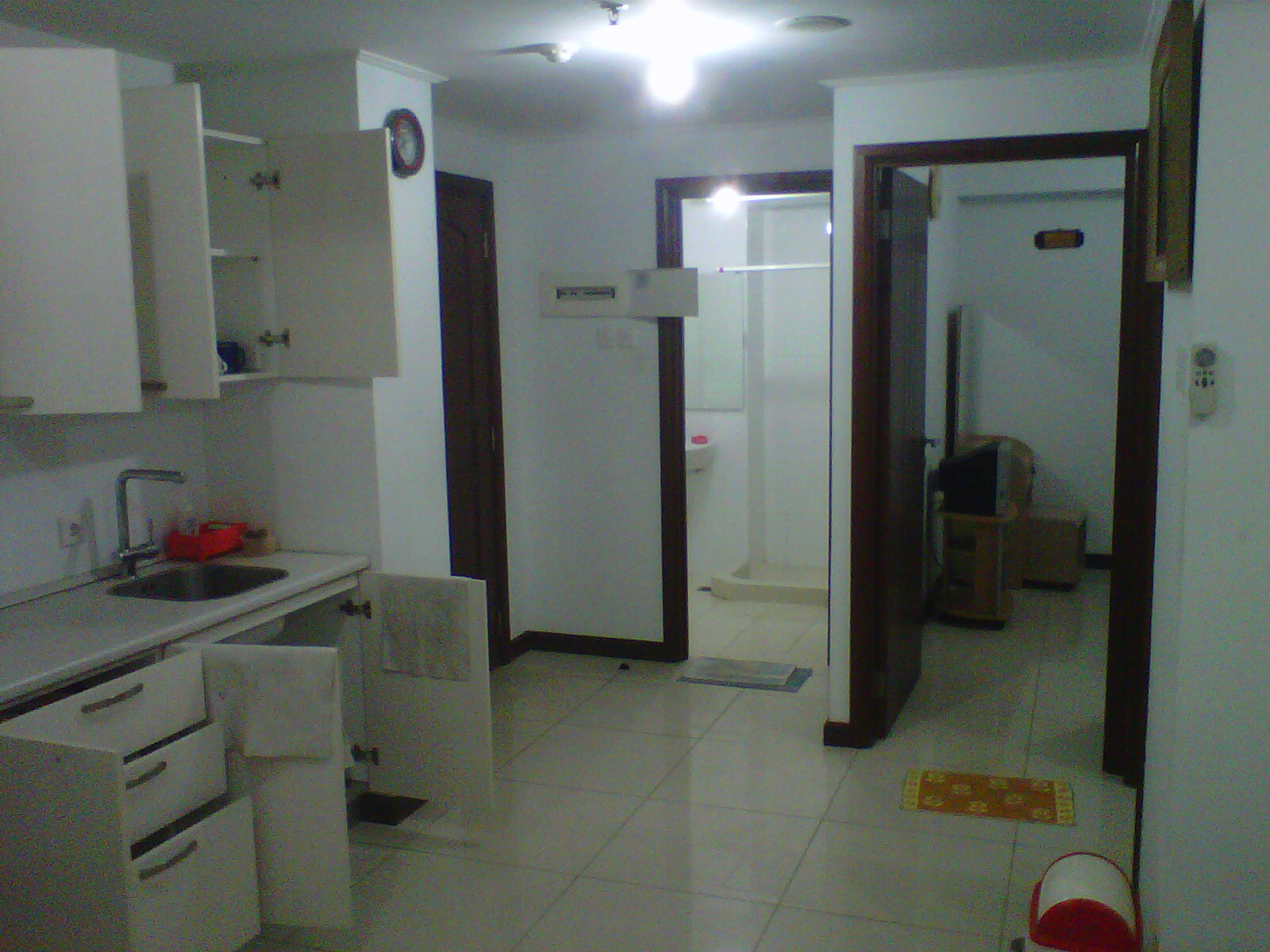 Comfy and fully furnished apartment located in west surabaya water place apartment are strategic located near ptc pakuwon trade center and supermall