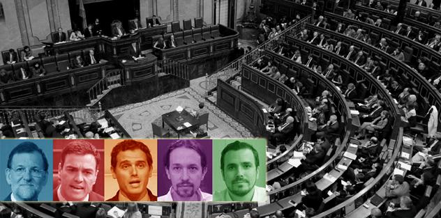El Parlamento español inaugura compleja e inédita legislatura