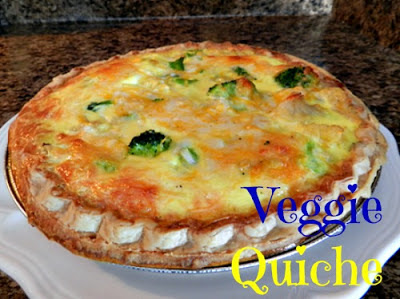 quiche, party foods
