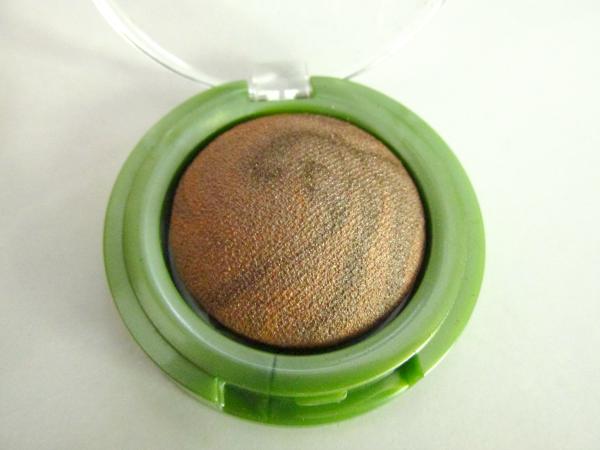 alverde Gebackener marmorierter Lidschatten - 10 Glowing Brown