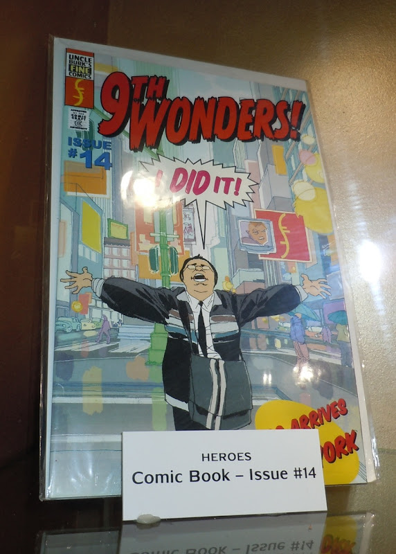 Heroes 9th Wonders comic book prop