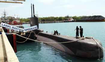 Pangarmatim: Kapal Selam Adalah Alutsista Strategis
