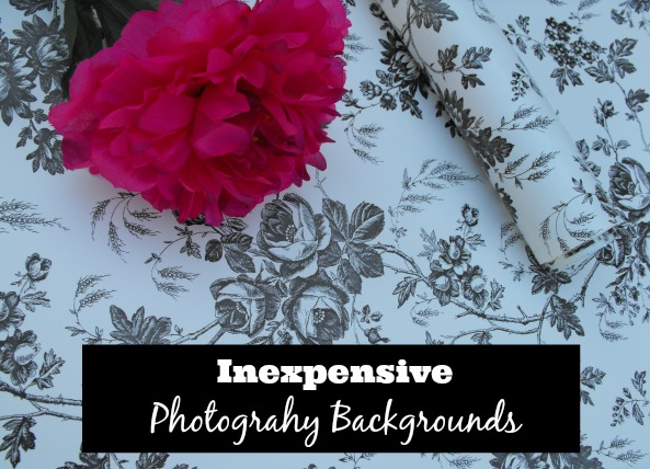 5 inexpensive ideas for photography backgrounds