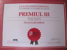 Premiat la Gala Societatii Civile 2010