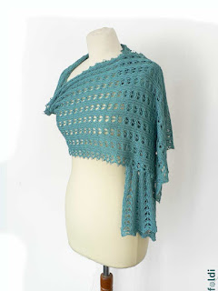 passap machine knitting bamboo scarf