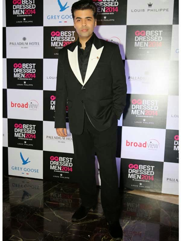 Karan Johar At GQ India's Best Dressed Men 2014 Awards