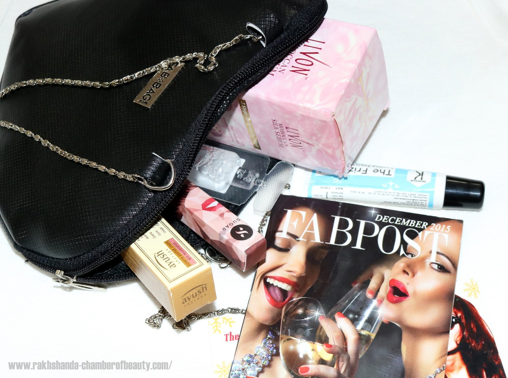 December 2015 Fab bag review(Party All Night)