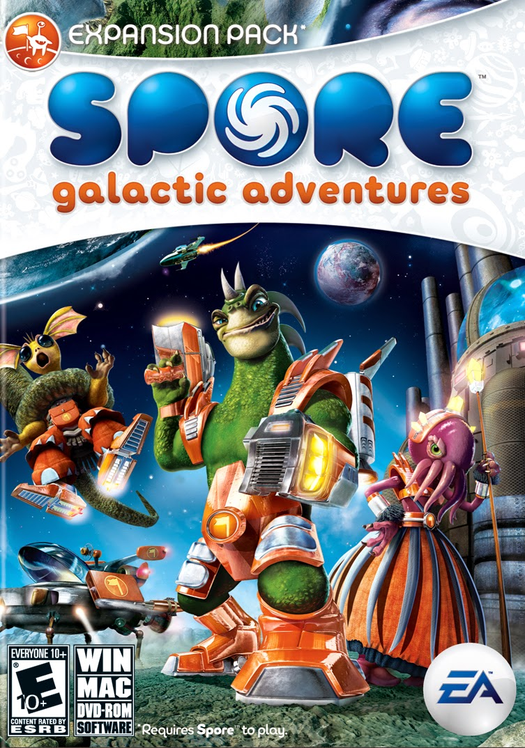 spore galactic adventures game wallpapers - Spore Galactic Adventures PC IGN
