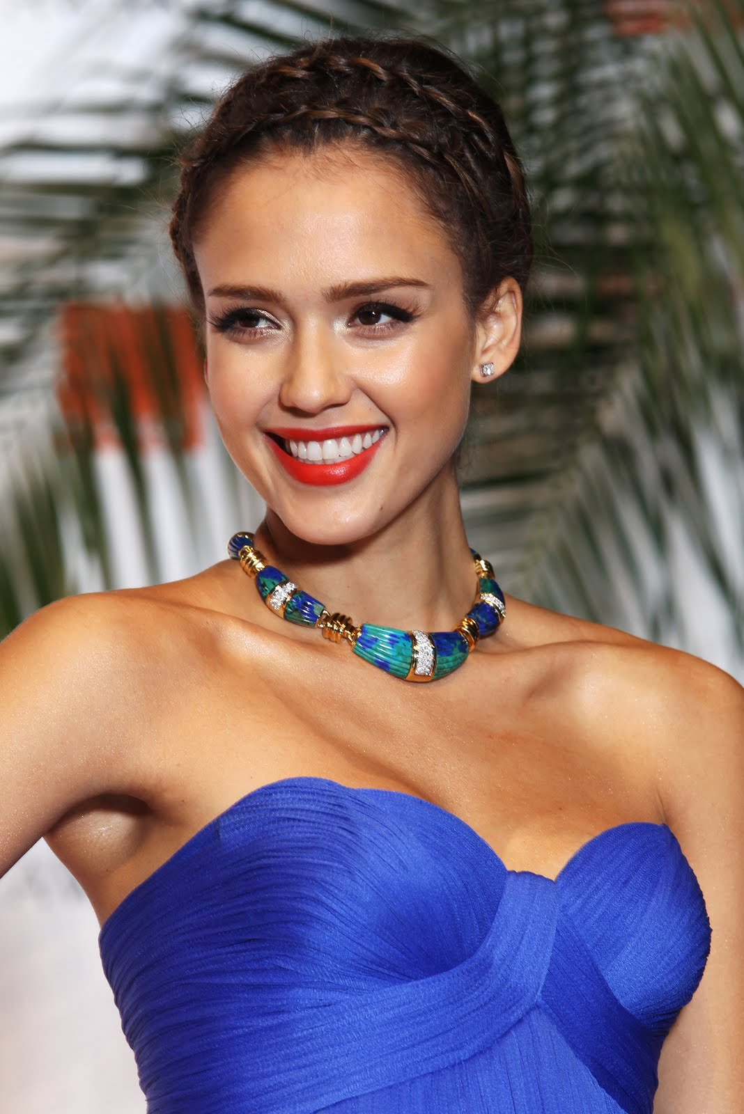 Jessica Alba Braid Hair