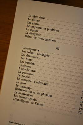Sommaire 2, L'enfant, Maria Montessori