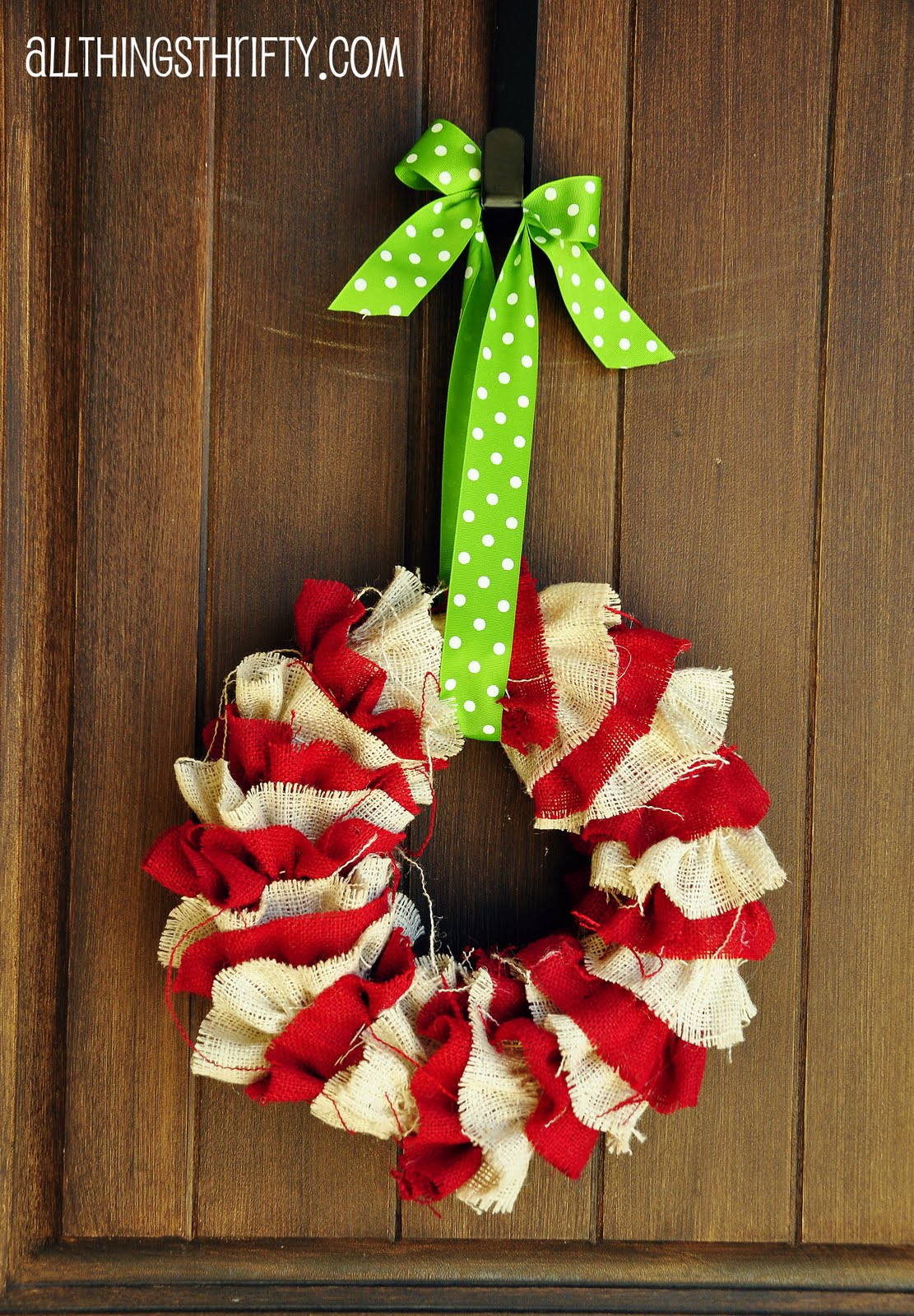Tutorial diy christmas wreath Simple christmas wreaths