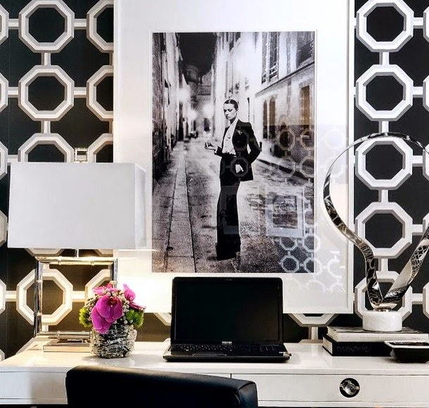 Stunning in black and white home decor ideas.