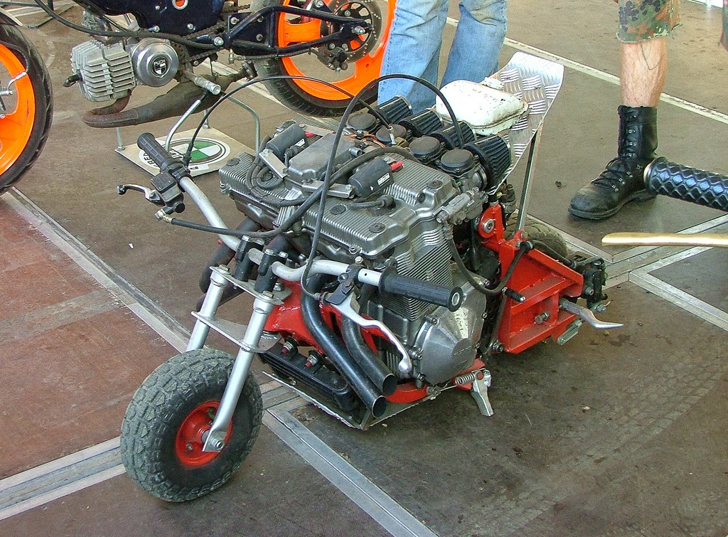 Vintage Mini Bike Chopper : Mini bike way speed