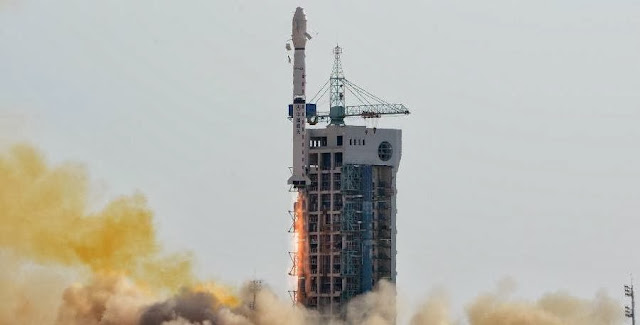 China launches experimental satellite Shijian-16. Credit: news.cn