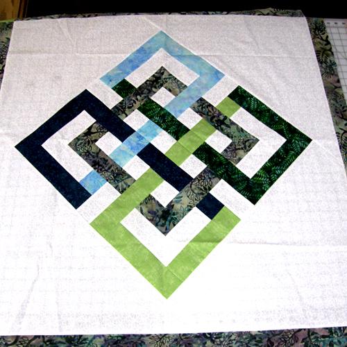 Interlocking Seasons Quilt Block