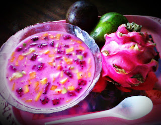 resep es buah naga merah