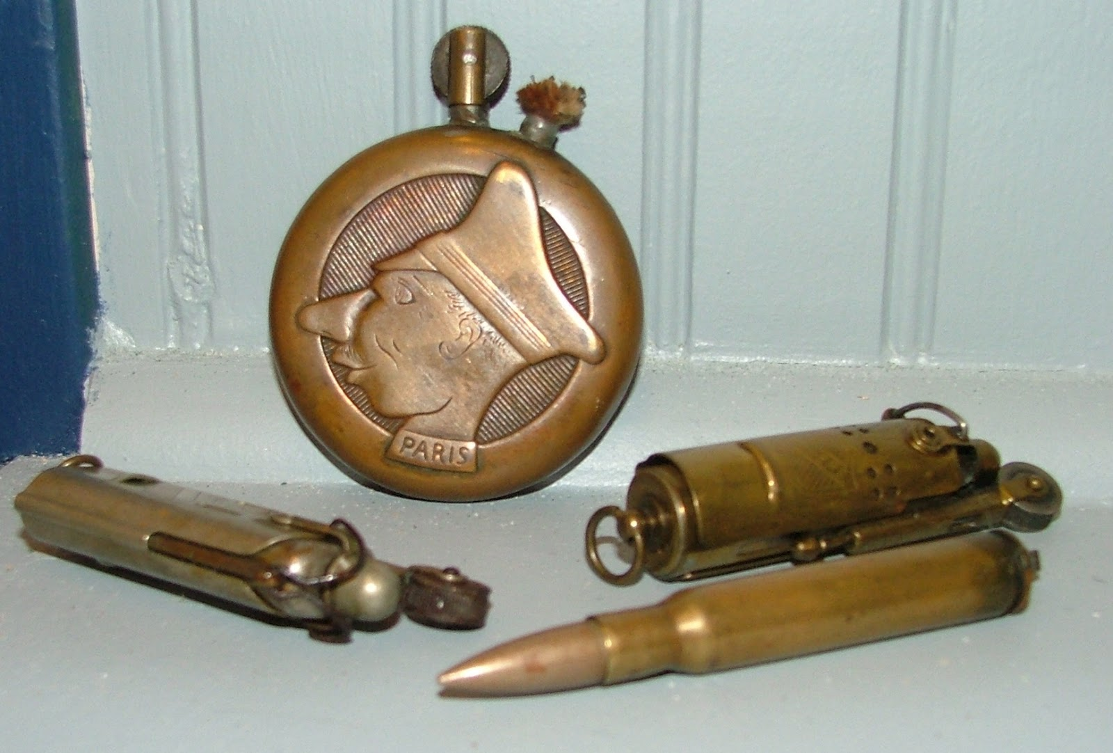 voices of harvey county  souvenirs for those who lived to tell their tales  wwi trench art