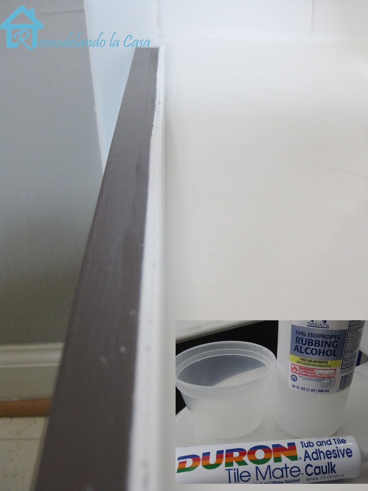 Bathtub Wood Panel Cover - Remodelando la Casa