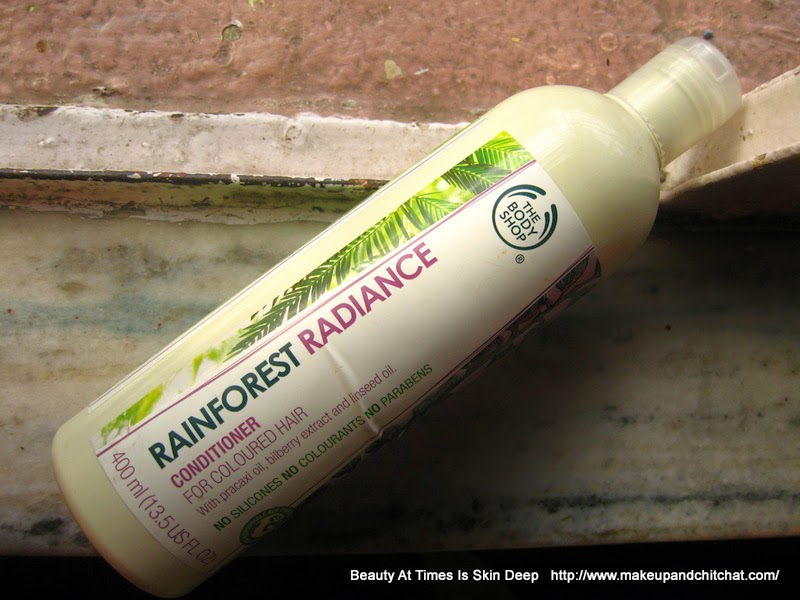 The Body Shop Rainforest Radiance Conditioner for Colored hair