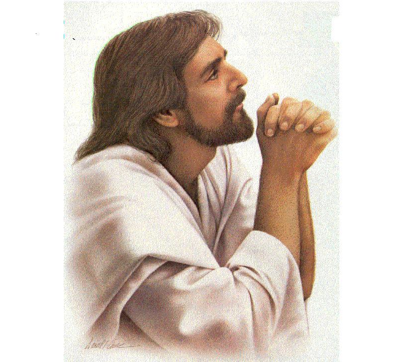 Jesus ora ao Pai