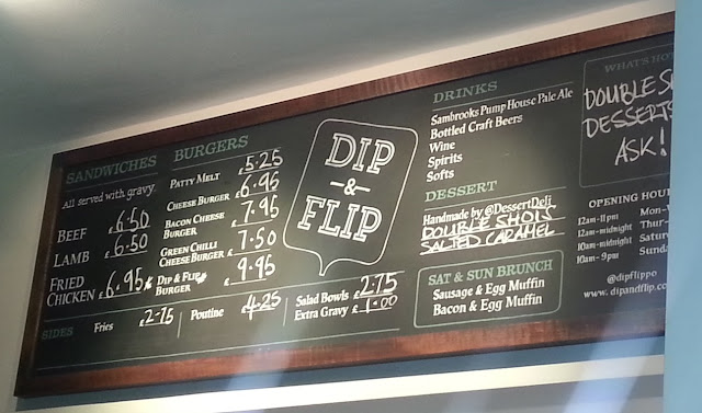 Dip & Flip is a sandwich and burger bar with lashings of gravy