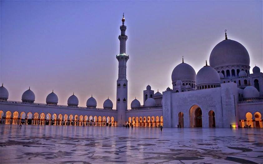 Grande moschea di Sheikh Zayed, Abu Dhabi (Emirati Arabi Uniti)