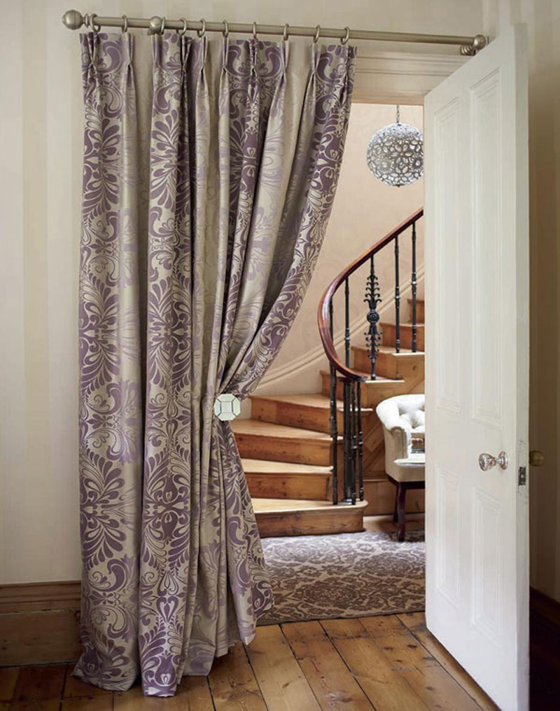 Curtain for a door