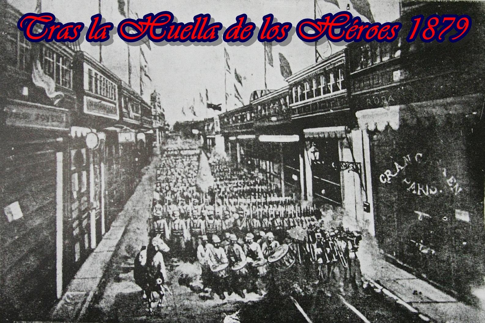 Tras la huella de los héroes 1879