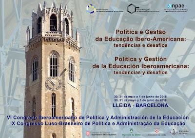VI Congreso Iberoamericano de Política y Administración de la Educación