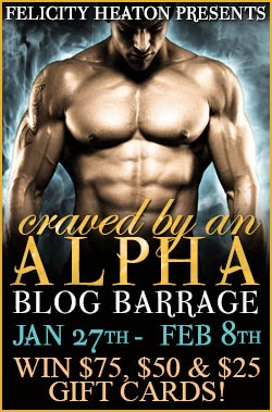 Craved by an Alpha Barrage (with Giveaway)