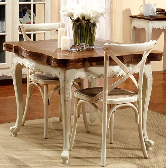 Mesas de comedor por la decoradora experta octubre 2012 - Mesa cuadrada comedor ...