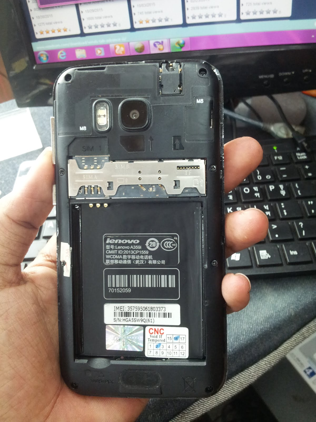 Lenovo A359i flash file Tested Bipul Tele