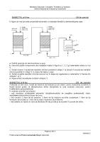Subiecte chimie industriala (maistri) - titularizare 2011