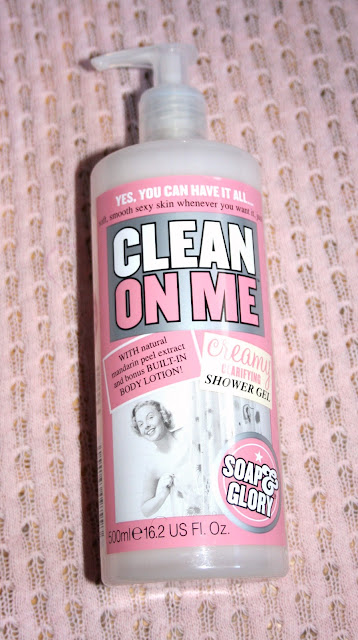 Soap&Glory Clean on Me Shower Gel