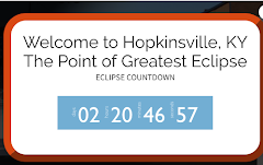 ECLIPSE COUNTDOWN FOR ECLIPSEVILLE