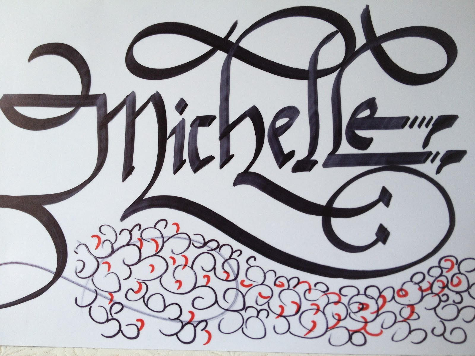 calligraphy art girl names in calligraphy 3 michelle sarah