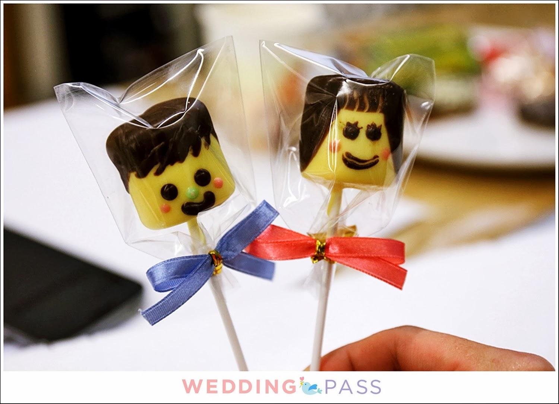 Wedding Pass 怪手巧紅  T&J Fortune Cookies 手做課程 花藝 手工餅乾 翻糖餅乾 彩繪棉花糖