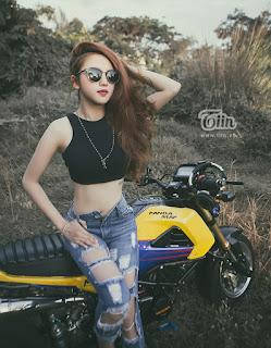 Hot girl 9x Kim Ngân Khả ái