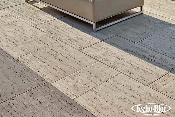Custom stoneworks design inc new 2013 travertina paver for Techo bloc
