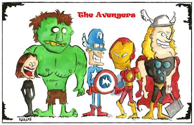 The Avengers por Douglas Roberto Nunes