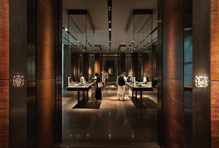 museum interior design museum of islamic art doha jean michel wilmotte interiors images. Black Bedroom Furniture Sets. Home Design Ideas