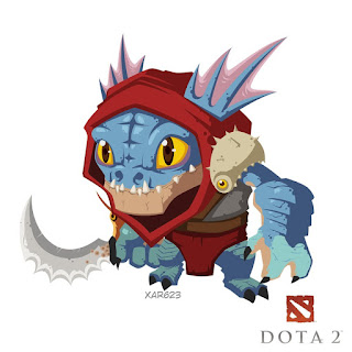 Slark Cute Murloc Nightcrawler Dota 2 Build Guide