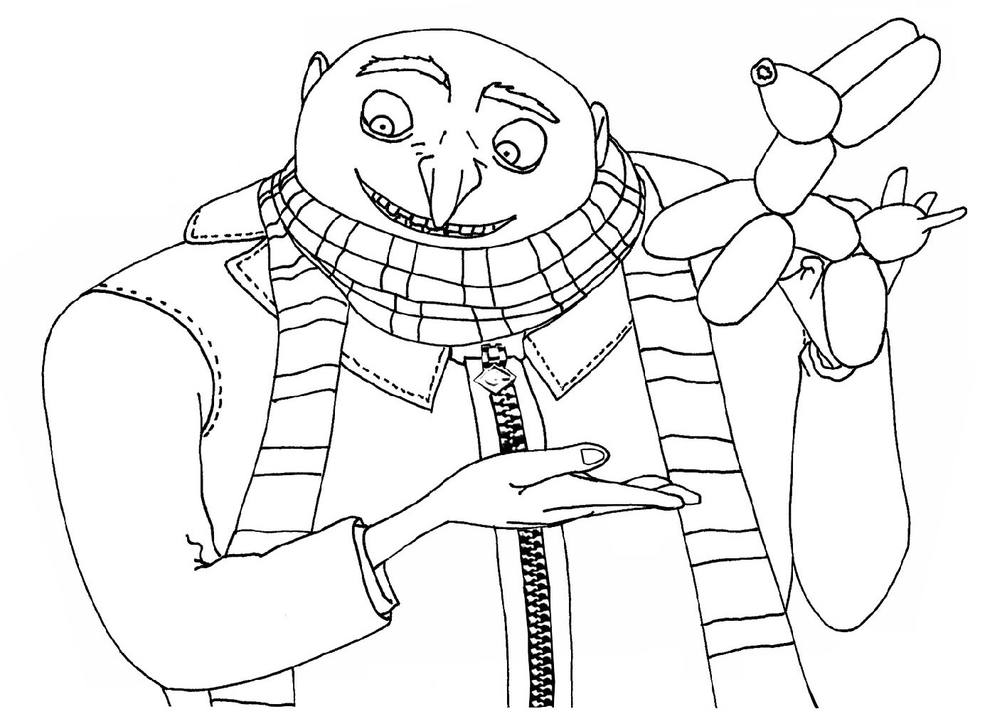 despicablemecoloringpages kids under 7 despicable me coloring