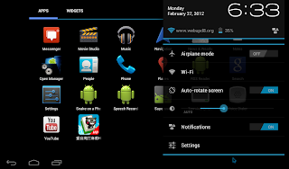 android x86 4.0 screenshot