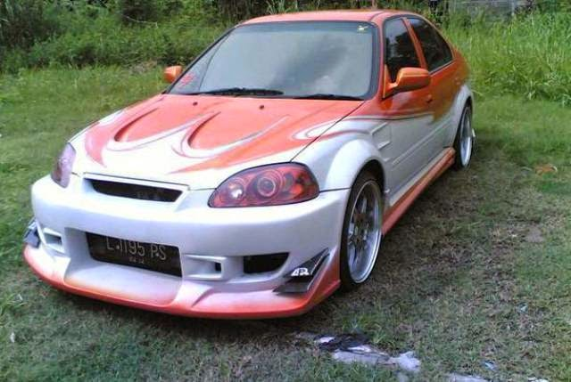 Modifikasi Honda Ferio Body Kit