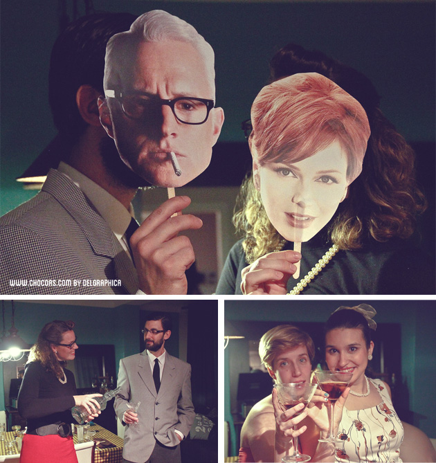Party Mad men - costume