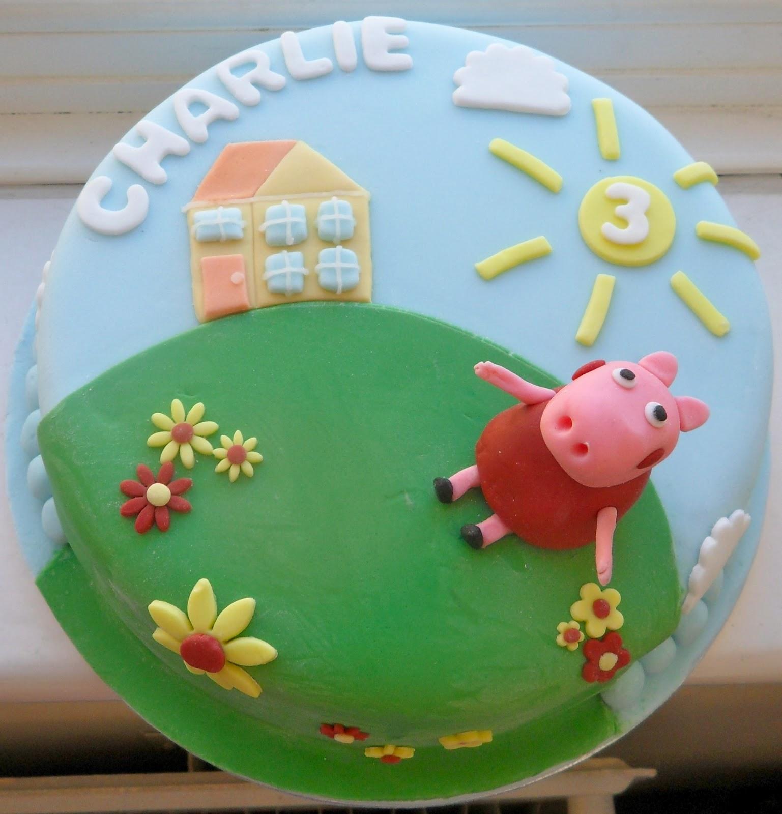 Peppa Pig Cake Pics